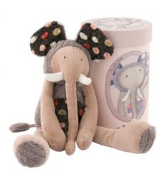 moulin roty - brrouuu the elephant soft toy les zazous