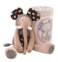 moulin roty - zazous brrouuu elephant soft toys