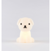 mr maria - snuffy dog first light lamp rechargeable & dimmable led