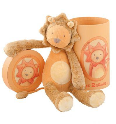 moulin roty - grroou the lion soft toy les zazous