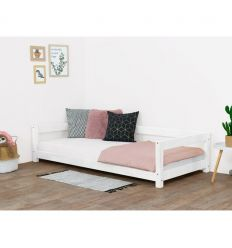 benlemi - montessori bed study (white)
