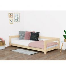 benlemi - montessori bed study (bleached natural wood)