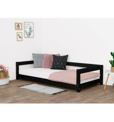 benlemi - montessori bed study (grey)