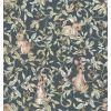 dekornik - carta da parati rabbits grove dark