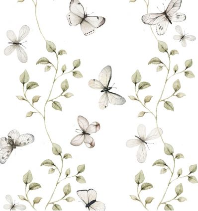 dekornik - carta da parati butterflies having fun