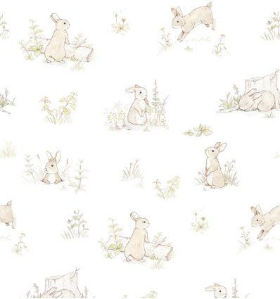 dekornik - wallpaper rabbit day classic