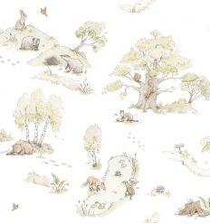 dekornik - carta da parati forest fairytale