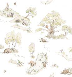 dekornik - wallpaper forest fairytale