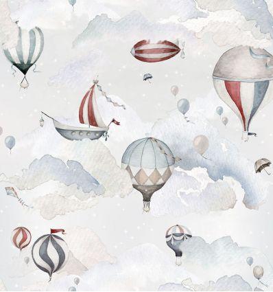 dekornik - carta da parati balloons adventures