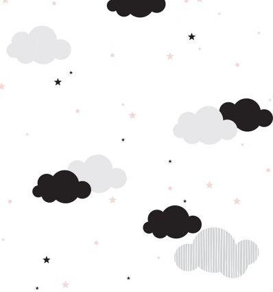 dekornik - carta da parati clouds