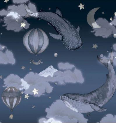 dekornik - carta da parati night night