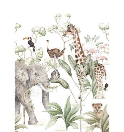 dekornik - wall mural savanna