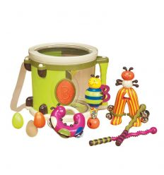 battat - set strumenti musicali parum pum pum