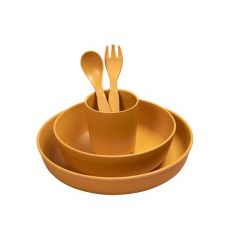 ferm living - bamboo dinner set seaside