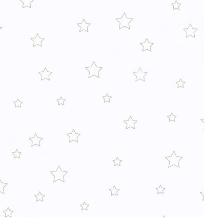 casadeco - curtain fabric stars etoiles (grey)
