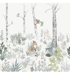 boråstapeter - wall mural magic forest