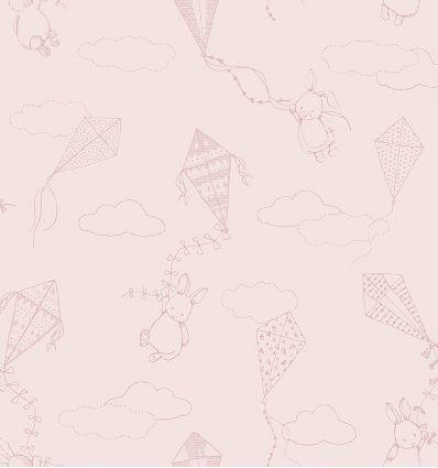 BORASTAPETER up&away wallpaper powder rose