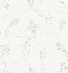 BORASTAPETER carta da parati up&away bianco