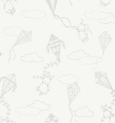 BORASTAPETER up&away wallpaper white