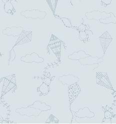 BORASTAPETER carta da parati up&away azzurro polvere