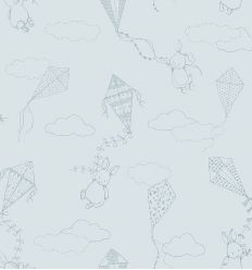 boråstapeter - up&away wallpaper (powder blue)