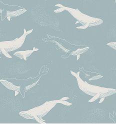 boråstapeter - whales wallpaper