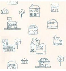 alhambra - carta da parati casette coolbaby