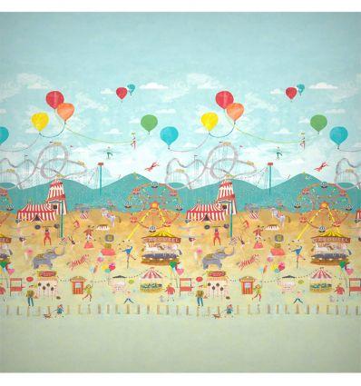 harlequin - mural wallpaper life's a circus