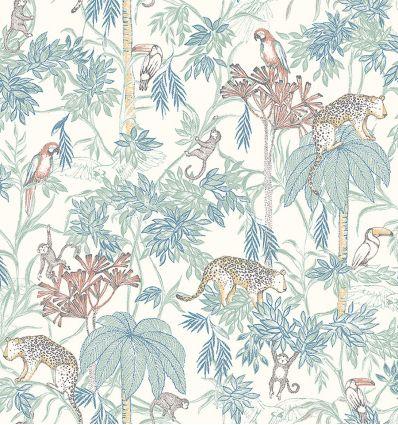 BORASTAPETER wild jungle wallpaper