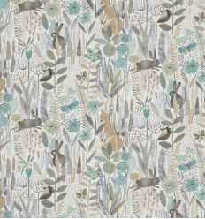 harlequin - fabric hide and seek linen/duck egg/stone