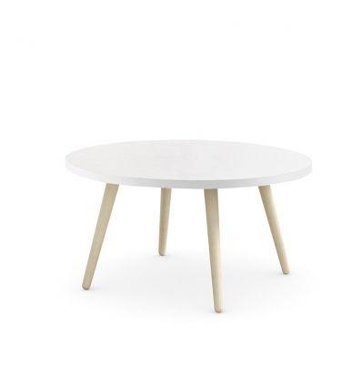 NIDI tavolino scrittoio woody (bianco, mandorla)