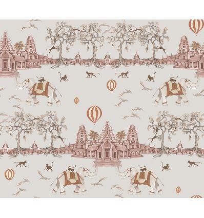 AILANTO DESIGN carta da parati angkor wat (apricot delight)