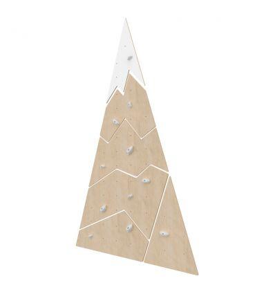 Parete da arrampicata in legno montagna grande