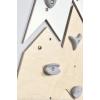 Wooden climbing wall big mountain