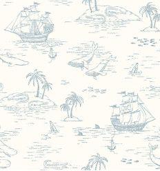 BORASTAPETER carta da parati treasure island