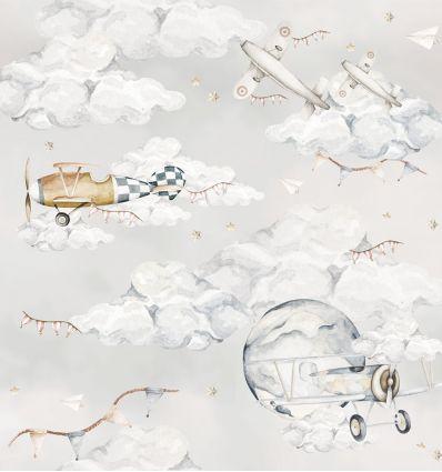 DEKORNIK wallpaper magic planes
