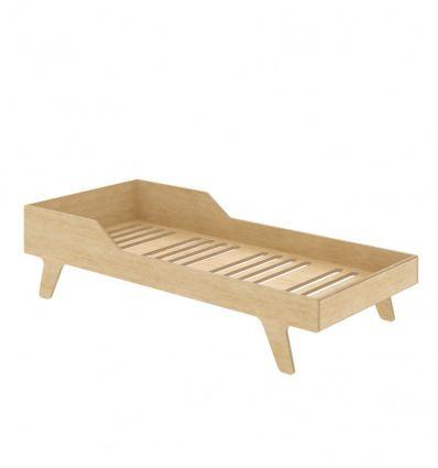 wooden dream big bed (natural)