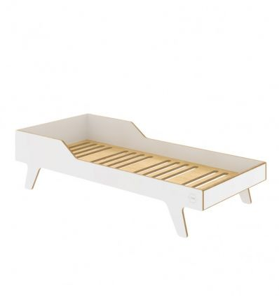 wooden dream big bed (white)