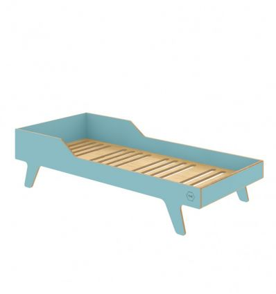wooden dream big bed (ocean)