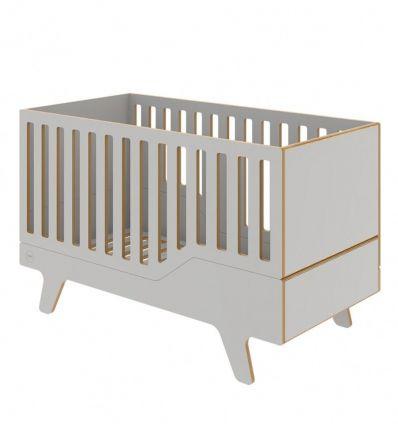 wooden evolutive crib dream (grey)