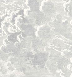 FORNASETTI wallpaper nuvolette soot & snow