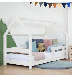 benlemi - montessori house bed tery (white)