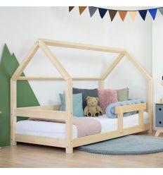 benlemi - montessori house bed tery (natural decor)