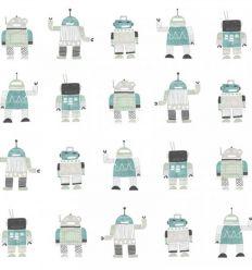 carta da parati robot