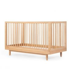 nobodinoz - evolutive crib pure (natural wood)