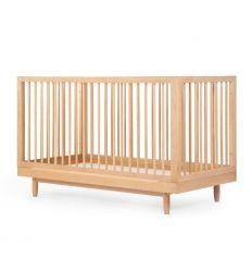 nobodinoz - lettino evolutivo pure (legno naturale)