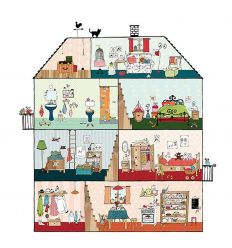 mr perswall - wallpaper panel home sweet home