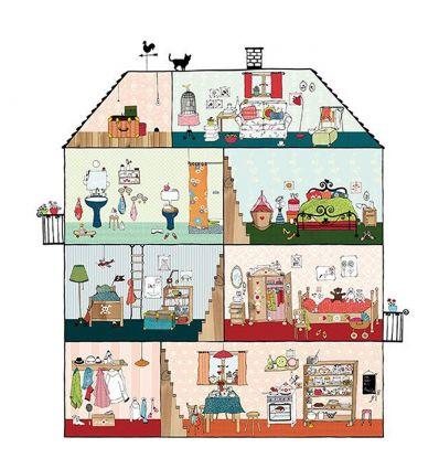 mr perswall - carta da parati pannello home sweet home